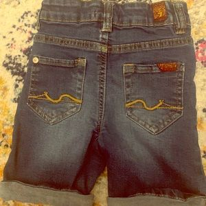 7 For All Mankind Toddler Boy Shorts